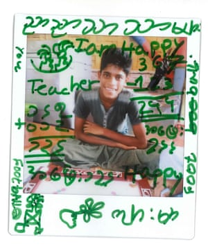 Mohammad, 15, a Rohingya refugee from Myanmar