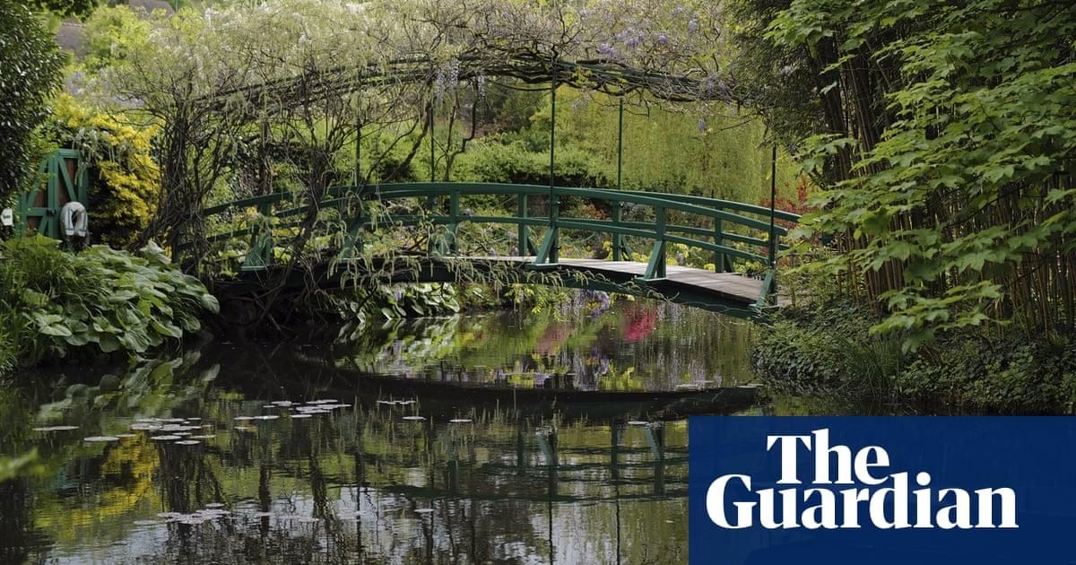 Monet's garden prepares to reopen – in pictures