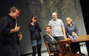 In Nina Raine's provocative family drama Tribes, Waller-Bridge played an opera singer opposite Jacob Casselden, Harry Treadaway, Stanley Townsend and Kika Markham. Roger Michell directed the 2010 production.