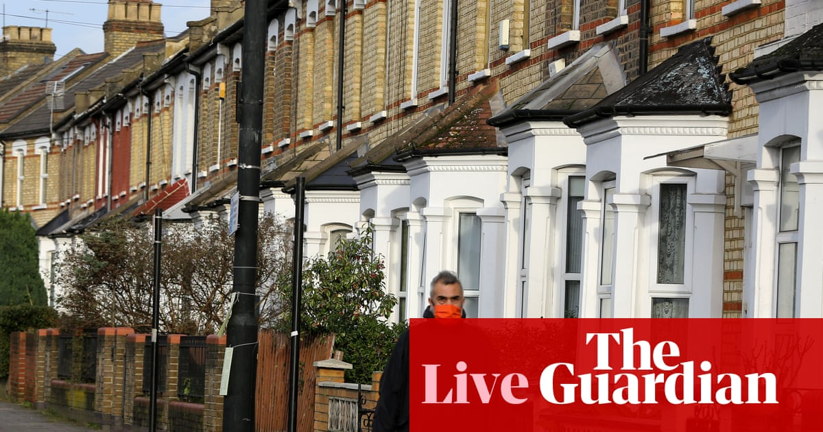 UK house price growth slows in 'cooling market' after pandemic boom – business live