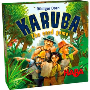 It comes in a tiny box, but Karuba: The Card Game offers plenty of challenging decisions.