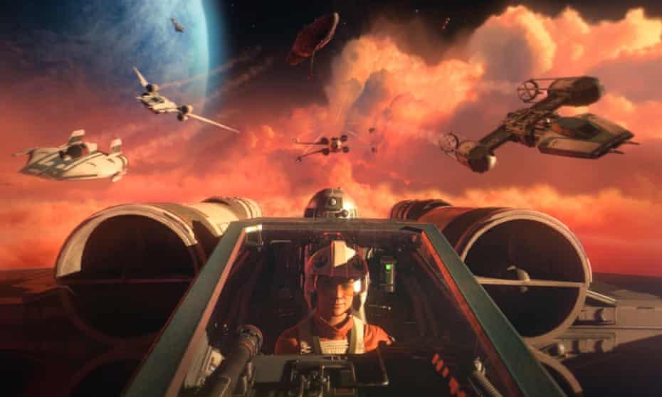 Exhilarating … Star Wars: Squadrons.
