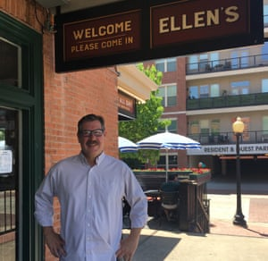 Joe Groves, co-owner of Ellen's, faced a boycott from the NRA and received threats after pledging to donate a portion of its proceeds to 'implementing reasonable and effective gun regulations'.