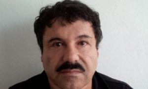 """(F1LES) Handout released by the Attorney General of Mexico (PGR)'s office of the mugshot of Mexican drug trafficker Joaquin Guzman Loera, aka """"el Chapo Guzman"""", published on the PGR website on February 22, 2014. Mexican authorities have recaptured fugitive drug kingpin Joaquin """"El Chapo"""" Guzman, six months after his prison break, President Enrique Pena Nieto said on January 8, 2016. AFP PHOTO/PGR --- RESTRICTED TO EDITORIAL USE - MANDATORY CREDIT """"AFP PHOTO / PGR"""" - NO MARKETING NO ADVERTISING CAMPAIGNS - DISTRIBUTED AS A SERVICE TO CLIENTS / AFP / PGR / -HO/AFP/Getty Images"""