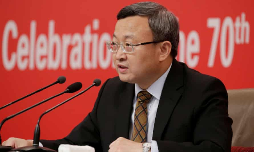 China's vice-commerce minister, Wang Shouwen