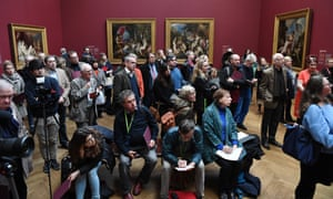 Out of hand? … The National Gallery packed in the visitors to its Titian: Love, Desire and Death exhibition.