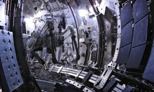 Fusion Reactor simulator, used for training, at the Joint European Torus (JET), located at the Culham Centre for Fusion Energy in the UK.