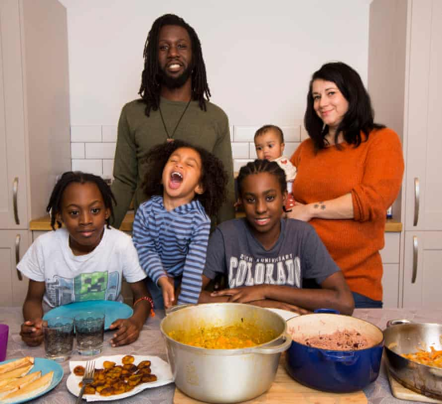 Tamar Nussbacher-Lawrence and her husband Rob have been vegan for 18 months; they are bringing up their baby and three-year-old vegan, though the older boys eat meat outside the home