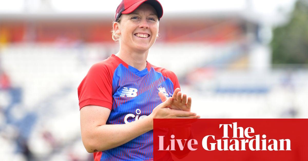 England v India: women's T20 international – live!