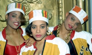 'It's a very popular song in maternity wards' … from left, DJ Spinderella, Salt and Pepa