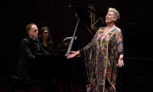 Joseph Middleton performing in Poland with Dame Sarah Connolly