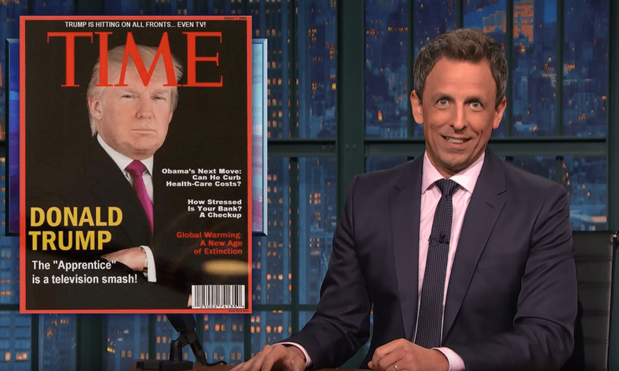 'This would be the saddest thing I've ever heard if it wasn't the funniest thing I've ever heard' ... Seth Meyers