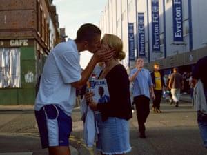 #15Gissa SnogEverton v SpursGoodison ParkLiverpool2001