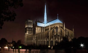 A proposal for Notre Dame from Italian architect duo Studio Fuksas.