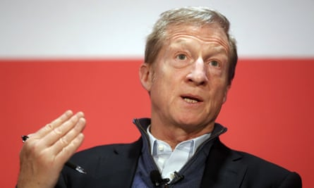 Tom Steyer has long toyed with a presidential run but appeared to rule it out earlier this year.