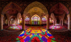 The Pink mosque, or Nasir al-mulk mosque, is a historic site in Shiraz