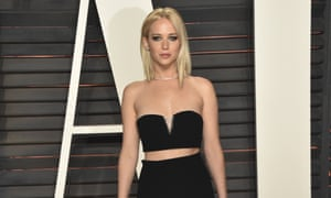 2016 Vanity Fair Oscar Party Hosted By Graydon Carter - Arrivals<br>BEVERLY HILLS, CA - FEBRUARY 28:  Actress Jennifer Lawrence arrives at the 2016 Vanity Fair Oscar Party Hosted By Graydon Carter at Wallis Annenberg Center for the Performing Arts on February 28, 2016 in Beverly Hills, California.  (Photo by John Shearer/Getty Images)