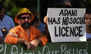 Anti-Adani protesters