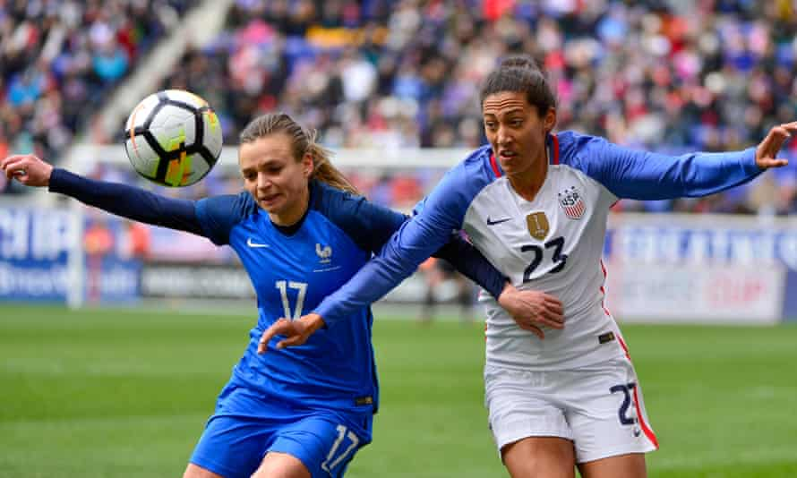 Christen Press won the World Cup with USA in 2015