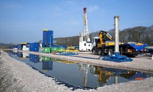 A Cuadrilla drilling rig