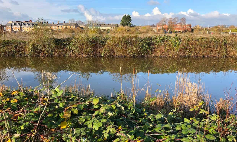 The River Tone in Taunton