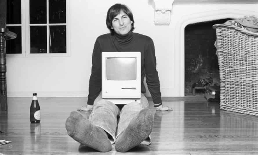 A still from Steve Jobs, The Man in the Machine