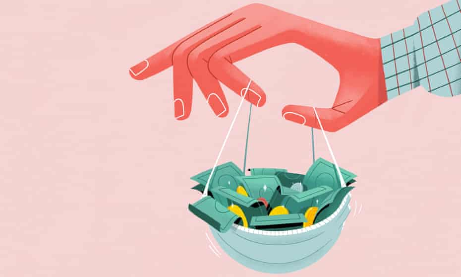 Illustration for Money – saving in the pandemic