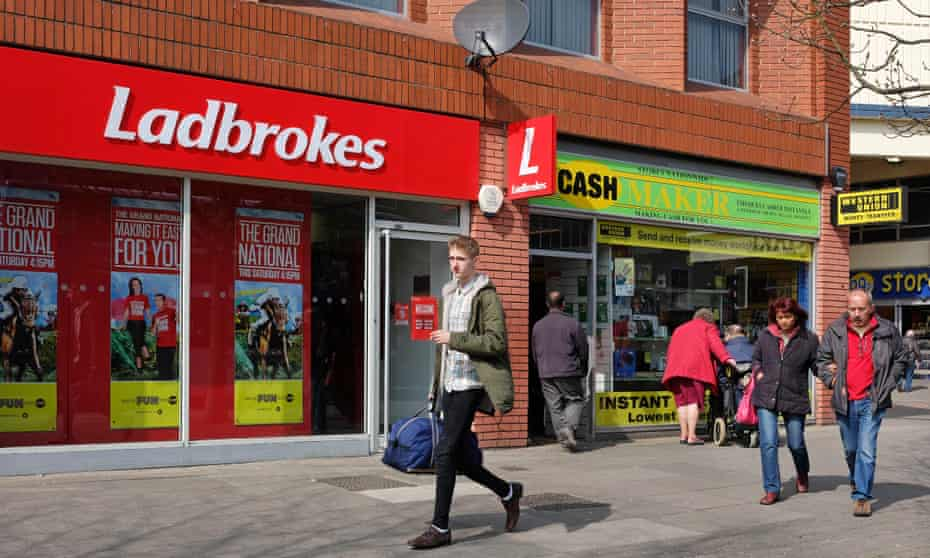 Ladbrokes and cashmaker shops