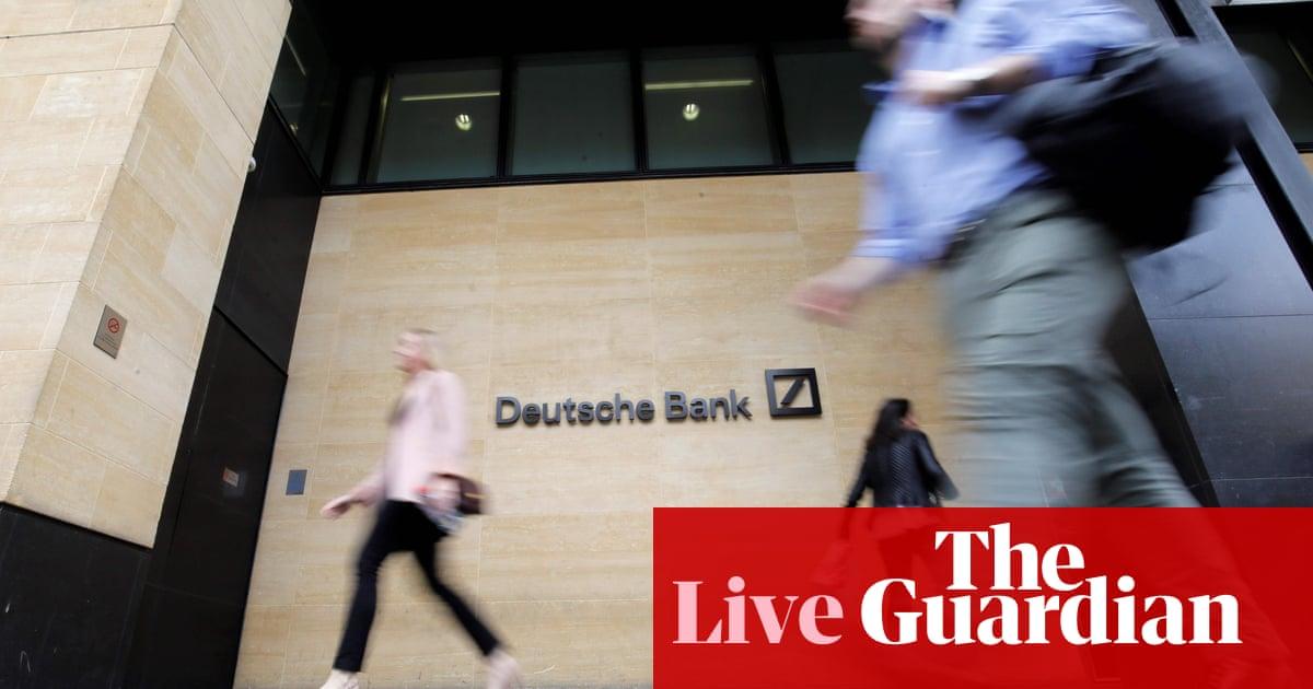 Deutsche Bank staff sent home as 18,000 job cuts begin - as