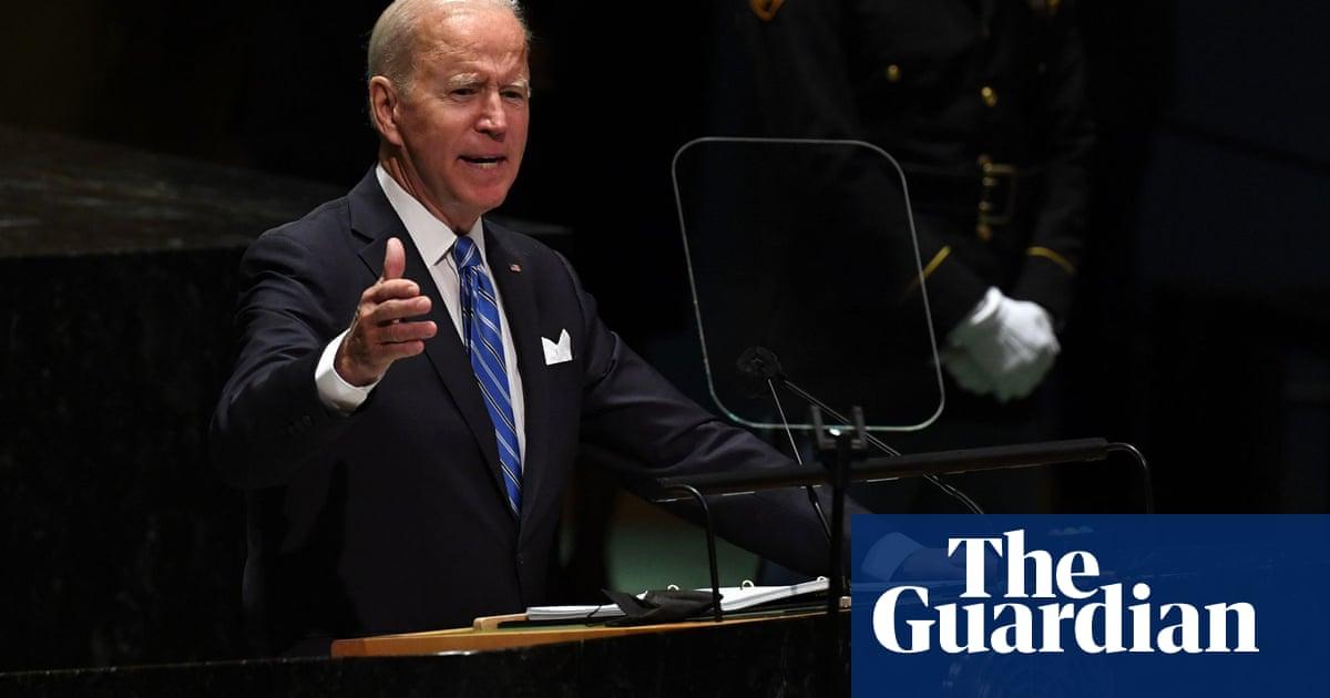 US is 'opening a new era of relentless diplomacy' says Joe Biden in UN speech – video