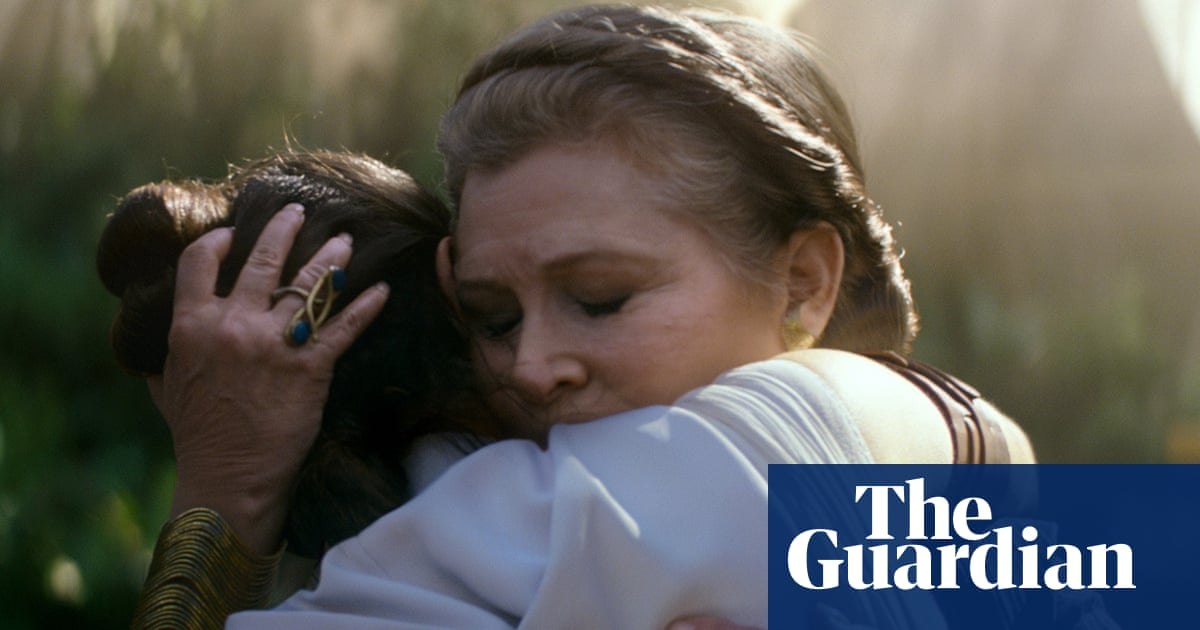 The People S Princess Why Carrie Fisher Is At The Heart Of The Rise Of Skywalker Film The Guardian