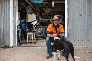 Angus, a farmer from Broken Hill talks about mental health in the Gippsland Jersey calendar 2019