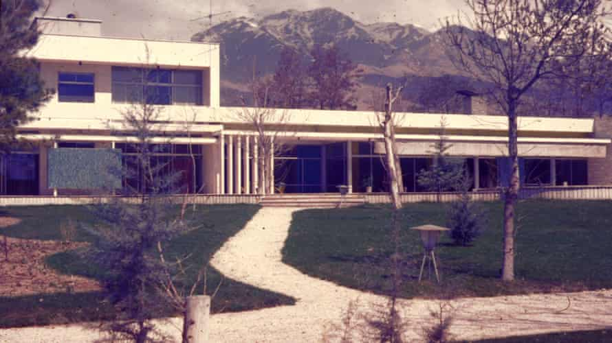 The house where we lived in north Tehran, early 1960s.