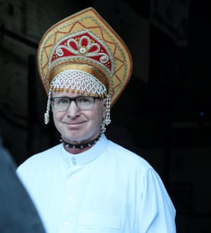 'Her legacy is still subversive' … TV producer James Norton as the Archbishop of Canterbury.