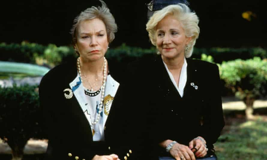 Shirley MacLaine, left, with Olympia Dukakis in Steel Magnolias, 1989.