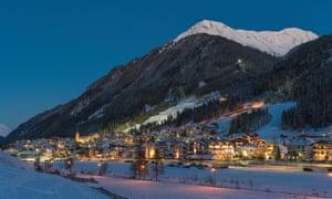Ischgl, in Austria's Paznaun Valley,