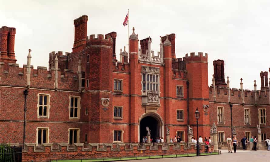 Hampton Court Palace, pictured in 2000.