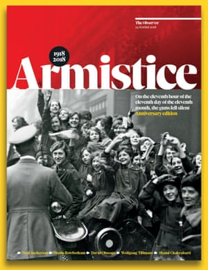 Armistice centenary special: free with the Observer, Sunday 14 October.