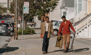 Jonathan Majors and Jimmie Fails in the 'hugely moving' The Last Black Man in San Francisco.