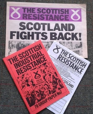 SNP documents from the early 1980s, from whence sprang today's Scottish Resistance.