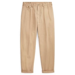 Pleated chinos, £145, by Polo Ralph Lauren
