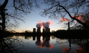 Drax power station in North Yorkshire, which is being part-converted from coal to biomass power.