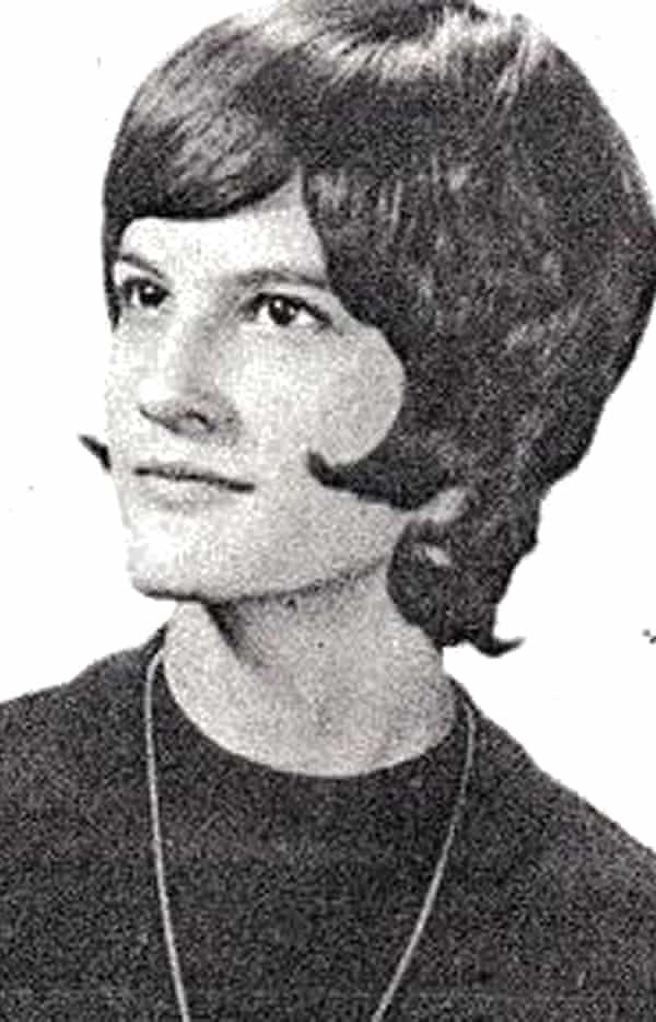 Sarah Ottens on her high school graduation day.