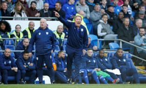 Warnock encourages his team to keep fight on.