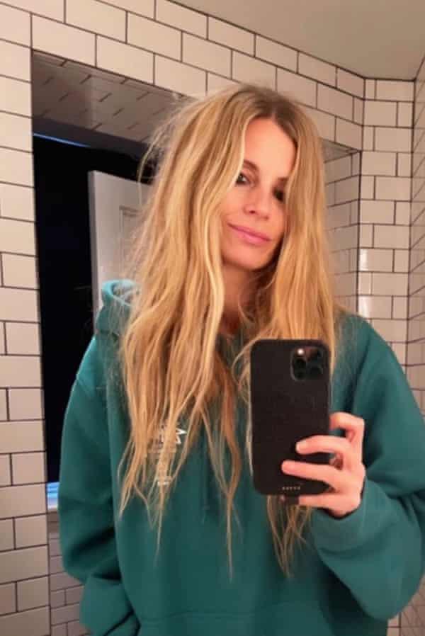 Laura Bailey on her Instagram account.