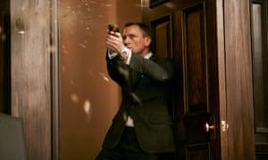 Daniel Craig in the 2012 Sam Mendes film Skyfall.