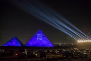 Message on pyramids