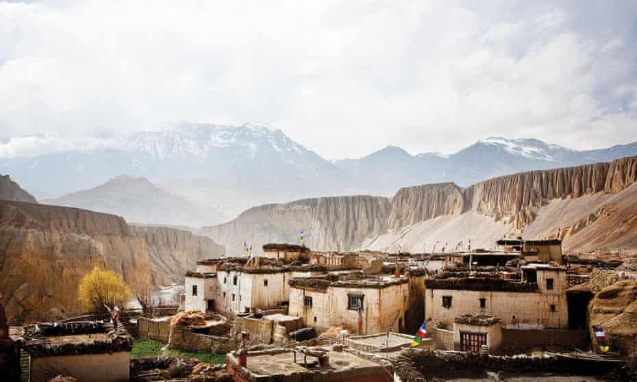 The village of Tangge in Upper Mustang, Nepal.