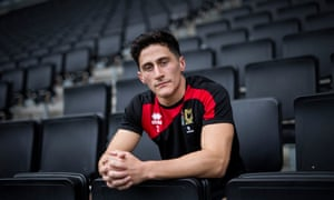 George Williams said being let go by MK Dons was 'brutal' but that he learned more about life being a student and living outside the football 'bubble'.