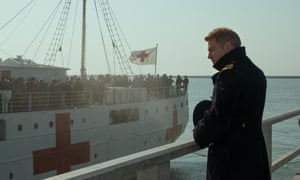 Beside the sea … Kenneth Branagh in Dunkirk.